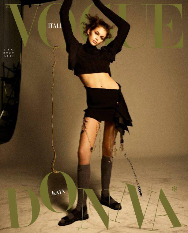 Kaia Gerber - Vogue Italy Magazine (May 2020)