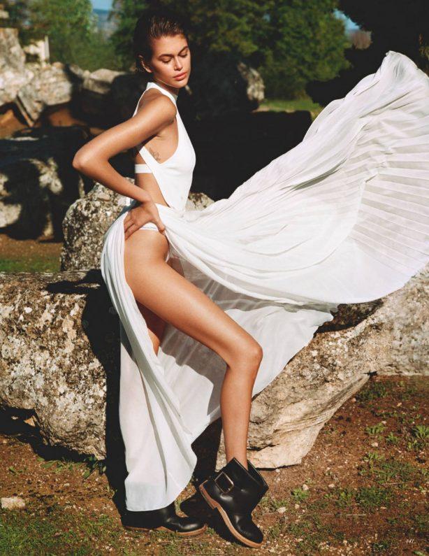 Kaia Gerber - Vogue magazine (UK - June 2020)