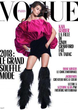 Kaia Gerber - Vogue Paris Cover (February 2018)