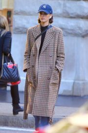 Kaia Gerber - Walking on Spring Street in Soho