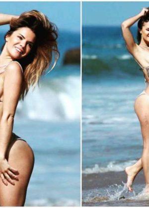 Kaili Thorne in Bikini - Social Media Photos