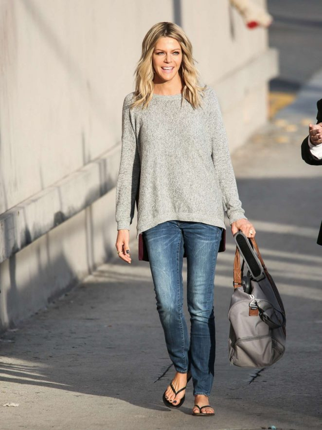 Kaitlin Olson - Arriving at Jimmy Kimmel Live! in LA