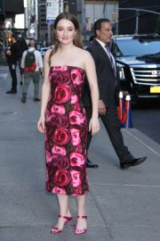 Kaitlyn Dever - Arrives at The Late Show with Stephen Colbert in NYC