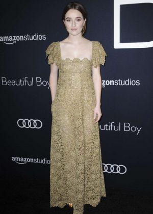 Kaitlyn Dever - 'Beautiful Boy' Premiere in Los Angeles