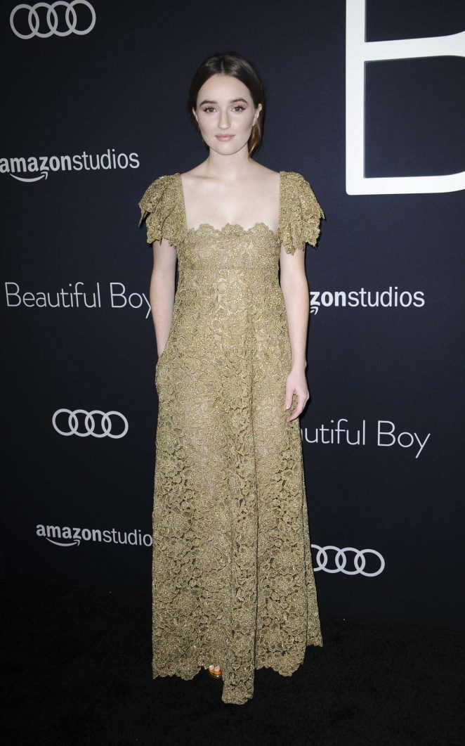 Kaitlyn Dever – 'Beautiful Boy' Premiere in Los Angeles
