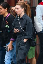 Kaitlyn Dever - Checks out from The Bowery Hotel in New York