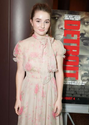 Kaitlyn Dever - 'Detroit' Special Screening in Los Angeles