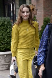 Kaitlyn Dever - Leaves Her Hotel in New York
