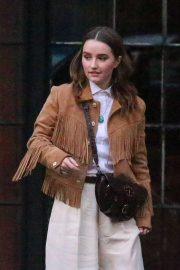 Kaitlyn Dever - Leaves The Bowery Hotel in NYC