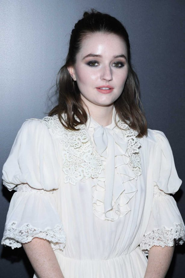 Kaitlyn Dever - Louis Vuitton show at 2020 Paris Fashion Week Womenswear F-W 20-21