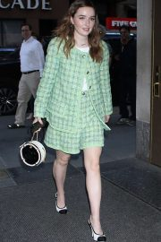Kaitlyn Dever - Outside the Today Show in New York City