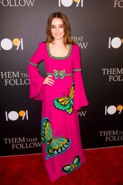 Kaitlyn Dever - 'Them That Follow' Premiere in Los Angeles