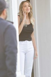 Kaitlynn Carter - Filming a new project on the streets of Studio City