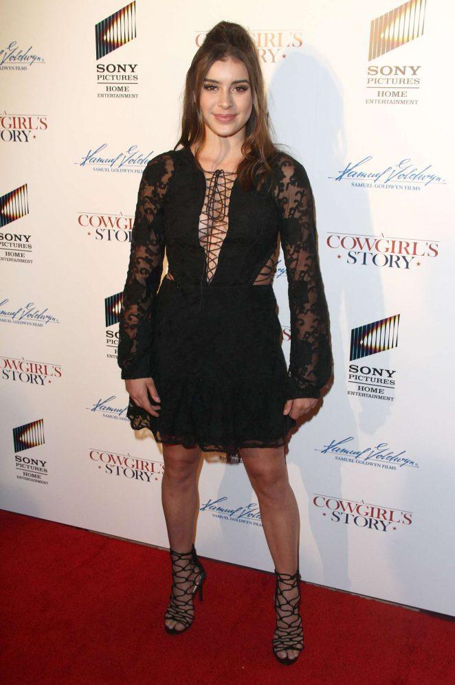 Kalani Hilliker - 'A Cowgirls Story' Premiere in Los Angeles