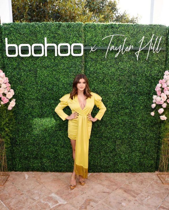 Kalani Hilliker - boohoo x Taylor Hill Tea Party in Malibu