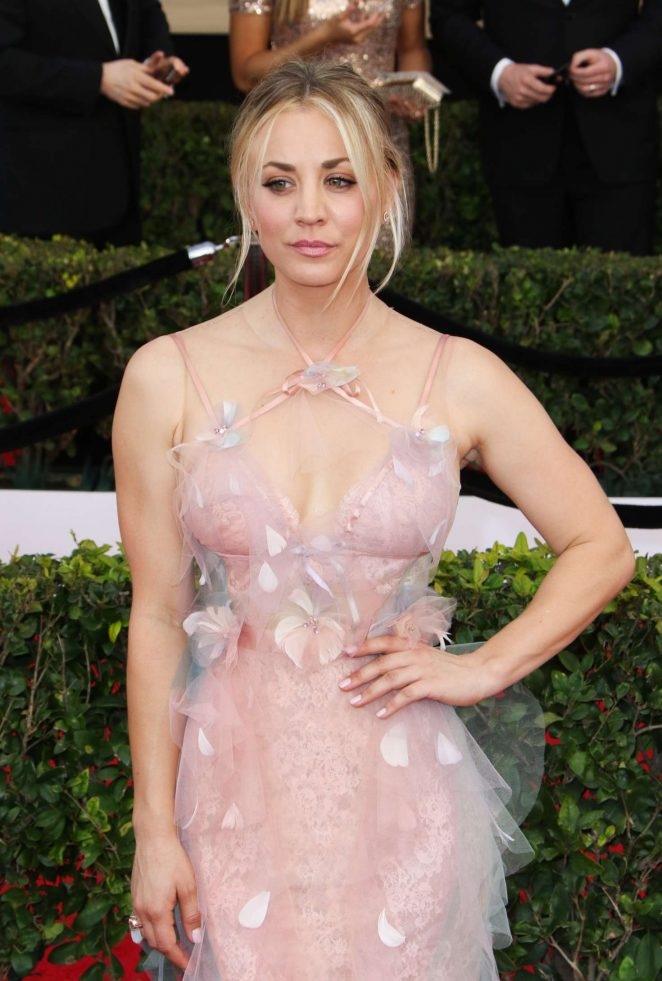 Kaley Cuoco - 2017 Screen Actors Guild Awards in Los Angeles