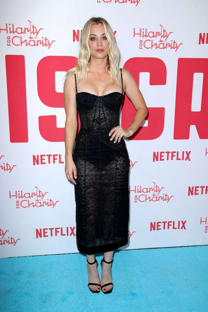 Kaley Cuoco - 2018 Hilarity for Charity Variety Show in Los Angeles