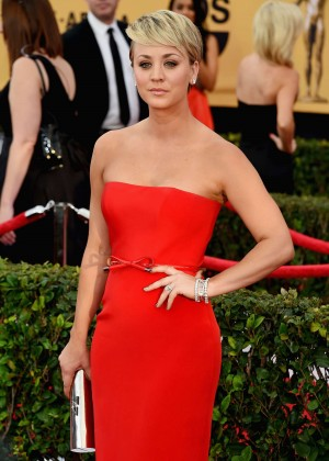 Kaley Cuoco - 2015 Screen Actors Guild Awards in LA