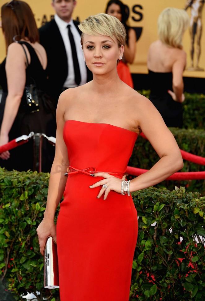 Kaley Cuoco – 21st Annual Screen Actors Guild Awards in LA