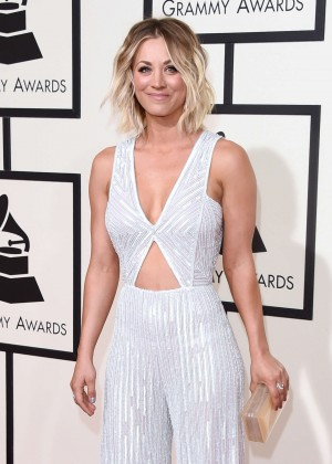 Kaley Cuoco: 2016 GRAMMY Awards -02