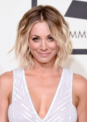 Kaley Cuoco: 2016 GRAMMY Awards -03