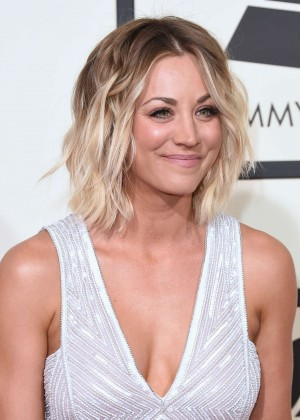 Kaley Cuoco: 2016 GRAMMY Awards -04