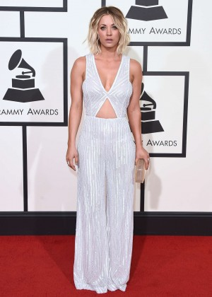 Kaley Cuoco: 2016 GRAMMY Awards -05