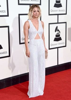 Kaley Cuoco: 2016 GRAMMY Awards -09