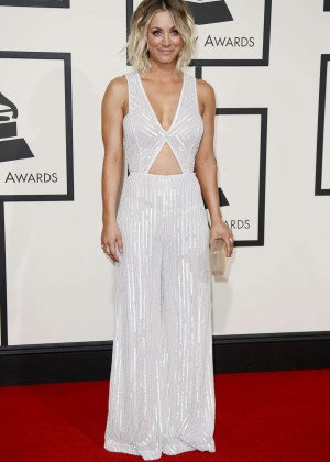 Kaley Cuoco: 2016 GRAMMY Awards -15
