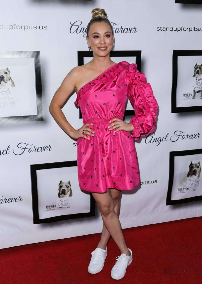 Kaley Cuoco - 8th Annual Stand Up For Pits in Los Angeles