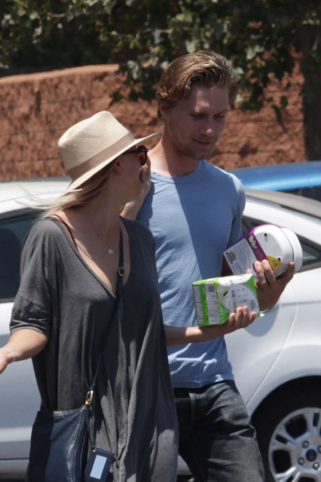 Kaley Cuoco and boyfriend Karl Cook out in Encino