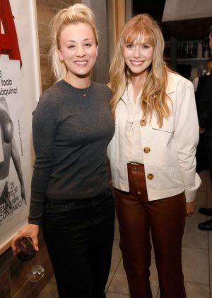 Kaley Cuoco and Elizabeth Olsen - EBMRF Hosts 'Sip. Savor. Support.' in Beverly Hills