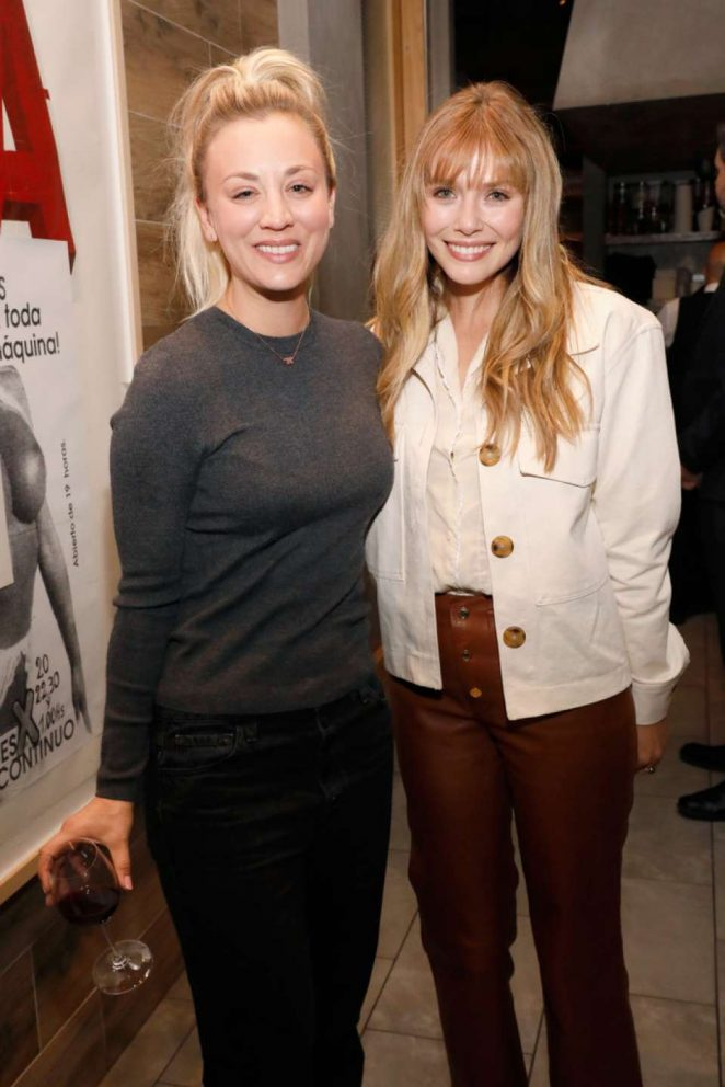 Kaley Cuoco and Elizabeth Olsen - EBMRF Hosts 'Sip. Savor. Support.' in Beverly Hills