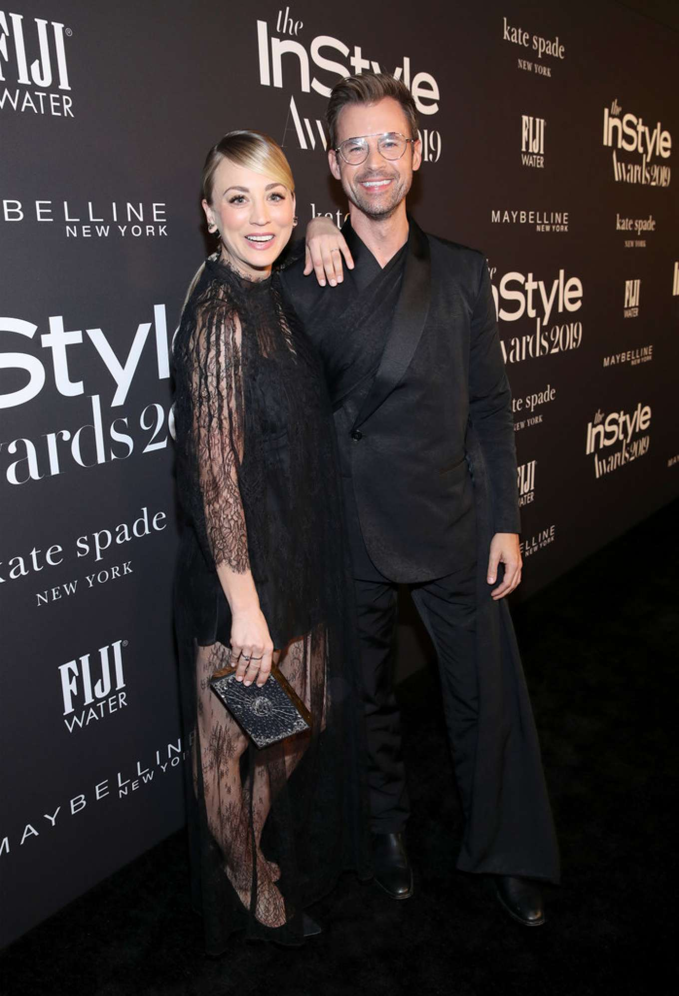 Kaley Cuoco - Black carpet at 2019 InStyle Awards in Los Angeles