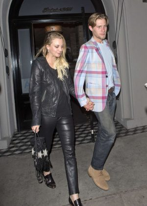 Kaley Cuoco Celebrates Her 31st Birthday With Karl Cook in West Hollywood