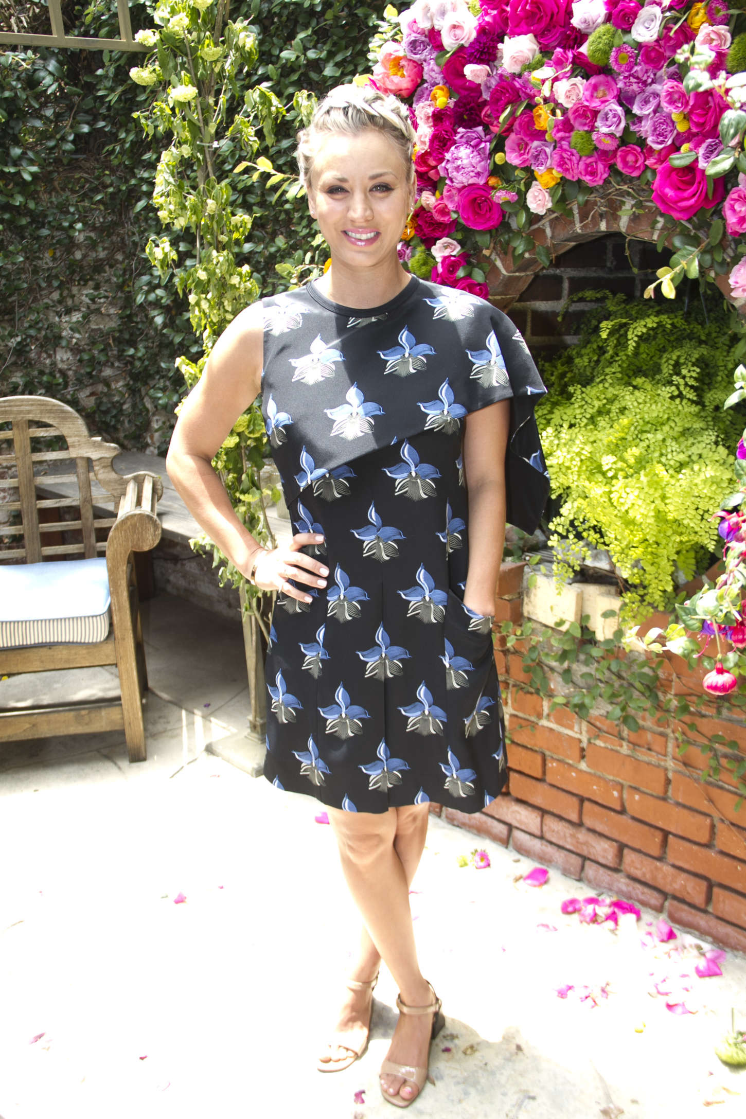 Kaley Cuoco - ColourPOP Cosmetics 1st Birthday Luncheon in West Hollywood