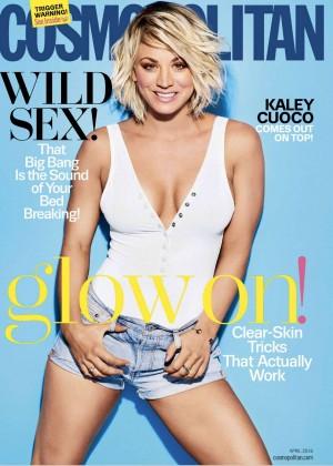 Kaley Cuoco: Cosmopolitan Magazine 2016 -01