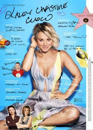 Kaley Cuoco: Cosmopolitan Magazine 2016 -04