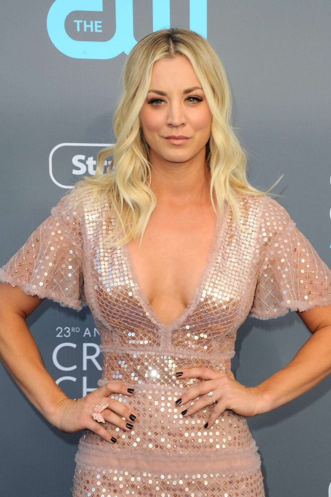 Kaley Cuoco - Critics' Choice Awards 2018 in Santa Monica