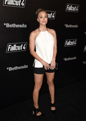 Kaley Cuoco - Fallout 4 Video Game Launch Event in LA