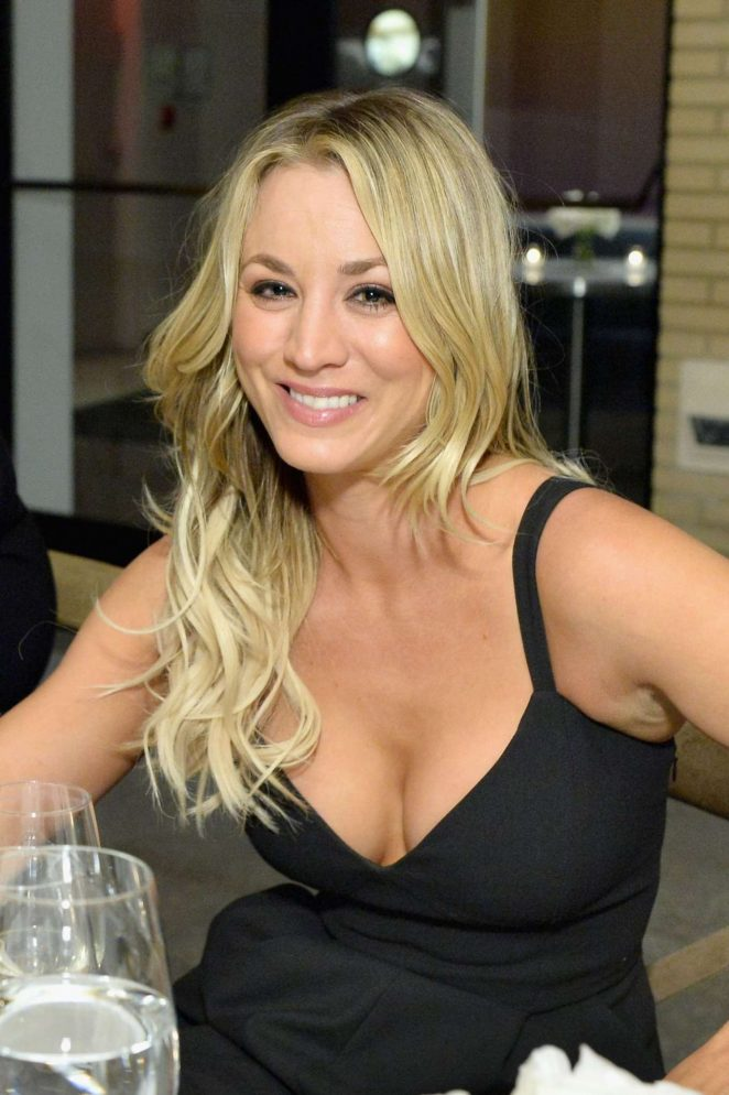 Kaley Cuoco – Glamour's 2016 pre-Women of the Year Awards Dinner in LA