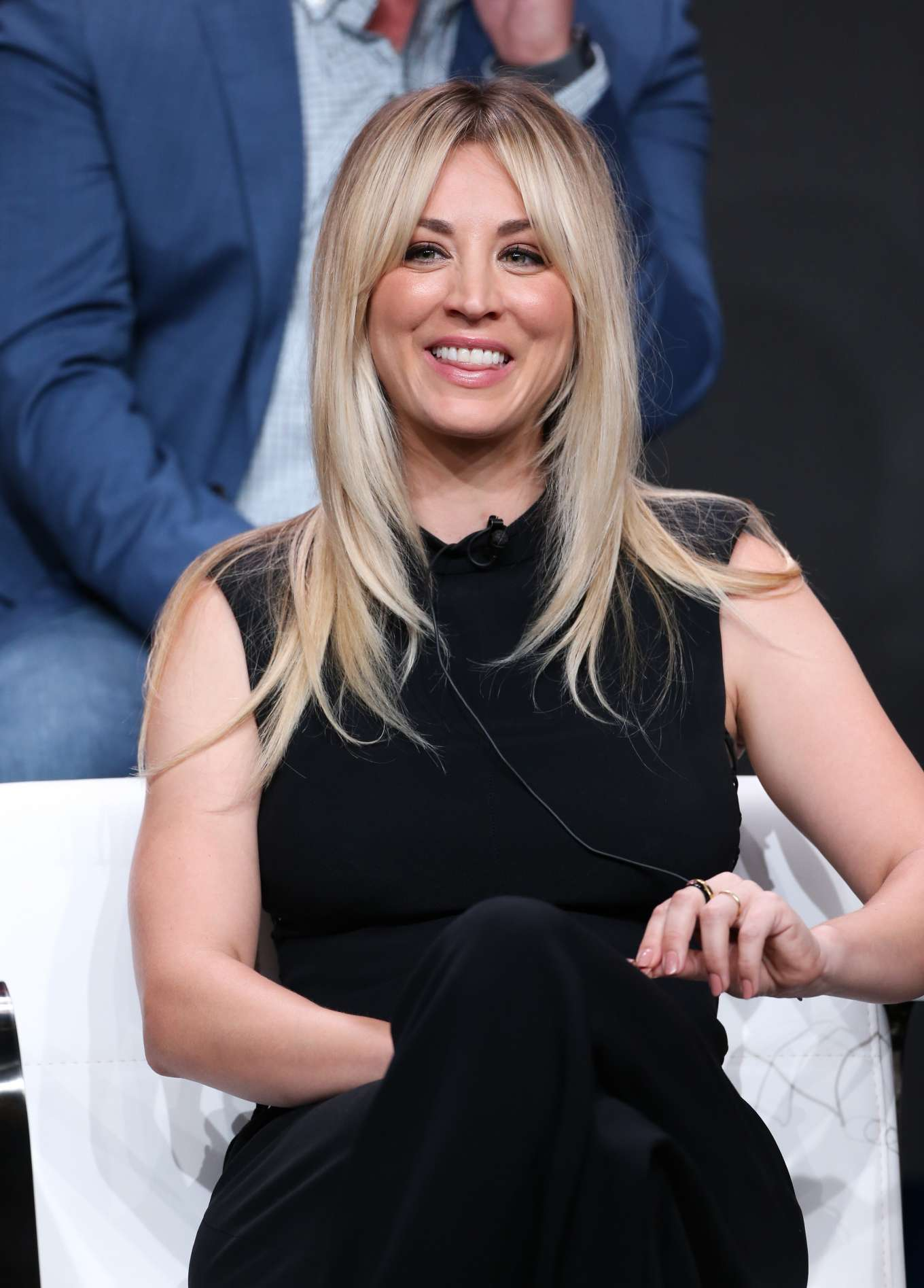 Kaley Cuoco - 'Harley Quinn' Panel at 2019 TCA Summer Press Tour in Los Angeles