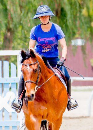 Kaley Cuoco: Horseback Riding -02