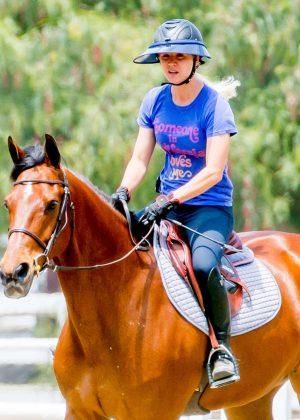 Kaley Cuoco: Horseback Riding -03
