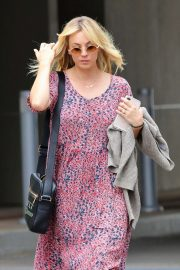 Kaley Cuoco - In Summer dress out in Los Angeles