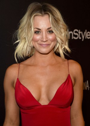 Kaley Cuoco - InStyle and Warner Bros 2016 Golden Globe Awards Post-Party in Beverly Hills