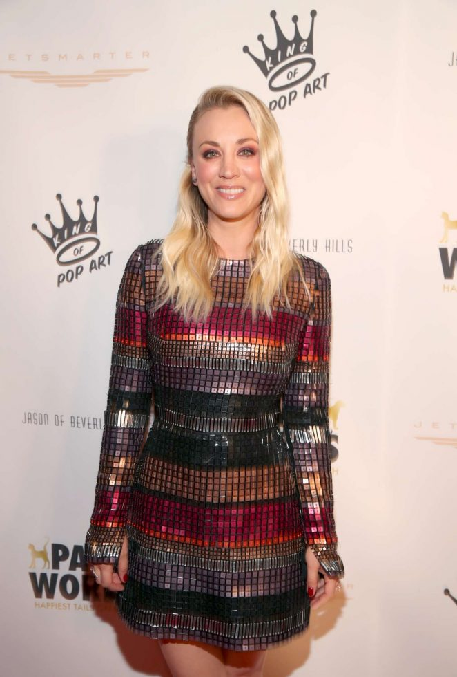 Kaley Cuoco - James Paw 007 Ties and Tails Gala in Beverly Hills