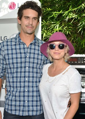 Kaley Cuoco - LG Electronics LG Fam To Table Series in Culver City