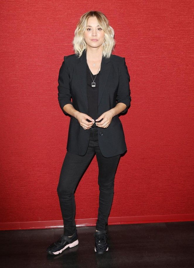 Kaley Cuoco – Opening Monterey Media Inc.'s 'Burning Bodhi' in Santa Monica