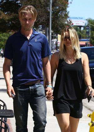Kaley Cuoco out for Lunch in Los Angeles